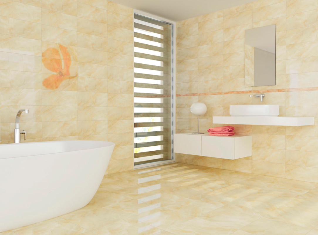 Magnificent Ideas For Bathroom Tiles On Walls Ideas - The Wall Art ...